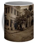 Vintage Downtown Charleston South Carolina Coffee Mug