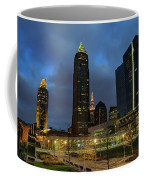 Downtown Cleveland At Dusk Coffee Mug