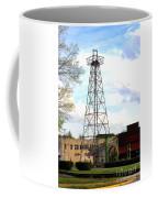 Downtown Gladewater Oil Derrick Coffee Mug