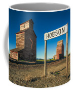 Downtown Hobson, Montana Coffee Mug
