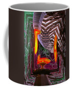 Downtown Light Warp Coffee Mug