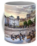 Downtown Lisbon Coffee Mug by Carlos Caetano
