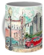 Downtown Tyler, Corner Of Broadway And Erwin May 2018 Coffee Mug