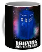Dr Who Believing Coffee Mug