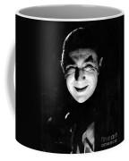 Dracula In The Shadows Coffee Mug
