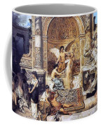 Draft Curtain Theatre In Krakow 1894 2 Henryk Semiradsky Coffee Mug
