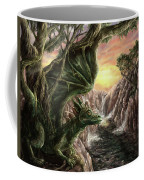 Dragon Branches Coffee Mug