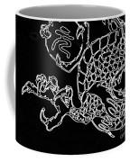 Dragon Bw Coffee Mug