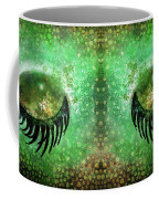 Dragon Eyes At Dawn Coffee Mug