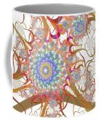 Dragon Flowers. Coffee Mug