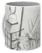 Dragon Fly And Lantern Coffee Mug