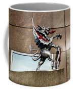 Dragon With Red Cross Coffee Mug