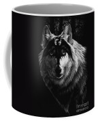 Dragon Wolf Coffee Mug by Stanley Morrison