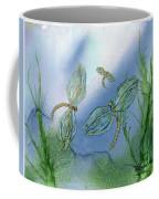 Dragonflies At Dusk Coffee Mug