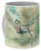 Dragonfly Coffee Mug by Gustave Moreau