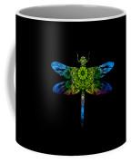 Dragonfly Kaleidoscope Coffee Mug by Deleas Kilgore