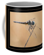 Dragonfly Needlepoint With Border Coffee Mug