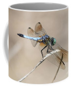 Dragonfly On Bent Reed Coffee Mug