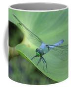Dragonfly On Lily Coffee Mug