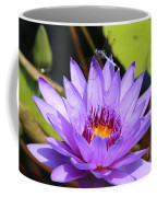 Dragonfly On Water Lily Coffee Mug