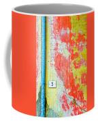Drainpipe Amazing Wall And Number Three Coffee Mug