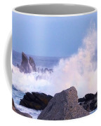 Drama Of The Rocky Shore Coffee Mug