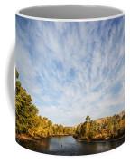 Dramatic Clouds Over Boise River In Boise Idaho Coffee Mug