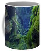 Dramatic Fluorescent Green Algae Coffee Mug by Mathieu Meur