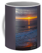 Dramatic Ocean Reflection Of Color Coffee Mug