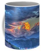 Dramatic Sky And Clouds Coffee Mug