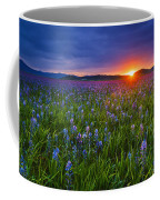 Dramatic Spring Sunrise At Camas Prairie Idaho Usa Coffee Mug