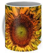 Dramatic Sunflower Coffee Mug