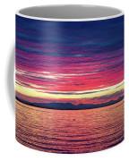 Dramatic Sunset Colors Over Birch Bay Coffee Mug