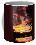 Dramatic Sunset Reflection Coffee Mug
