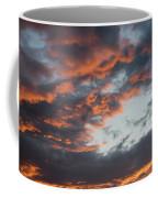 Dramatic Sunset Sky With Orange Cloud Colors Coffee Mug