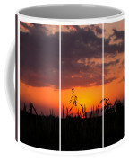 Dramatic Sunset Triptych Coffee Mug