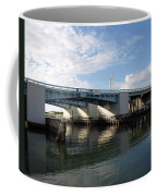 Drawbridge At Port Canaveral In Florida Coffee Mug