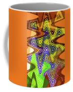 Drawing Color Squares Abstract Coffee Mug