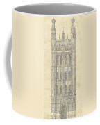 Drawing For The Houses Of Parliament Coffee Mug