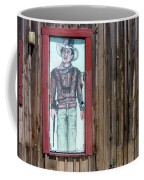 Drawing John Wayne Hondo  Medicine Horse Black Canyon City Arizona 2005 Coffee Mug