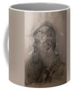 Drawing Of A Stagehand Coffee Mug