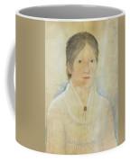 Drawing Of A Young Girl Coffee Mug