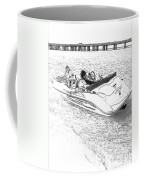 Drawing The Boat Coffee Mug