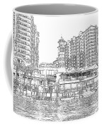 Drawing The Harbor Coffee Mug