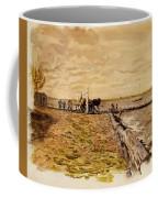 Drawing The Seine 1882 Coffee Mug