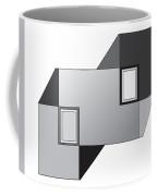 Drawn2shapes11bnw Coffee Mug