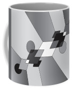 Drawn2shapes12bnw Coffee Mug