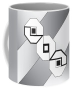 Drawn2shapes4bnw Coffee Mug
