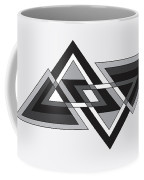 Drawn2shapes6bnw Coffee Mug