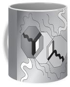 Drawn2shapes7bnw Coffee Mug